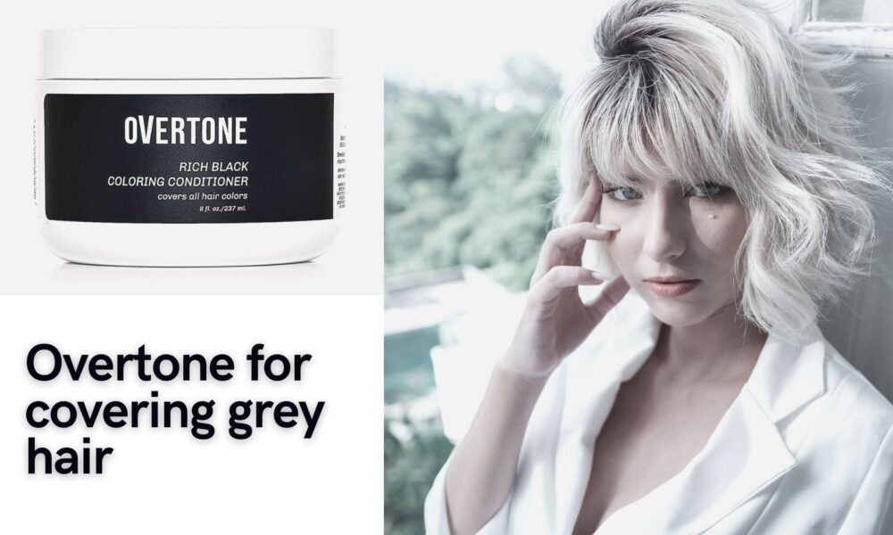 will overtone cover gray hair
