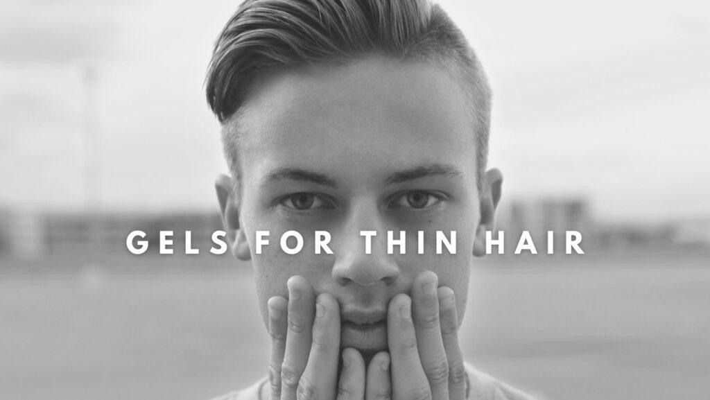 best mens hair gel for thinning hair