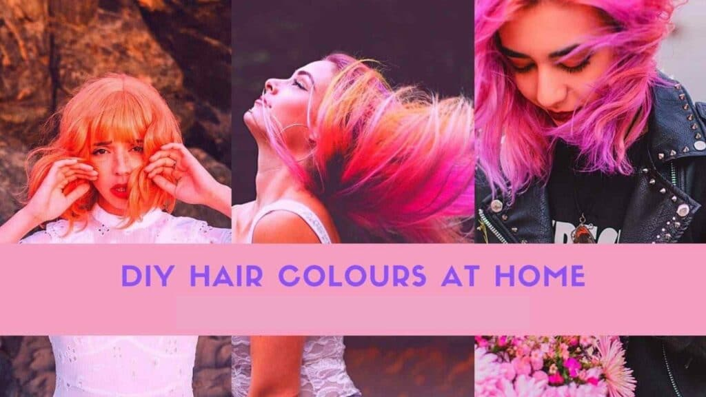 at home hair dye