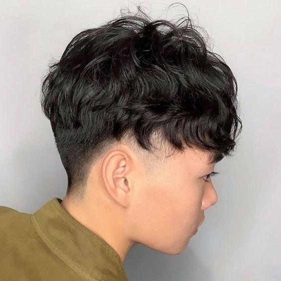 two block haircut short