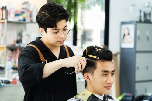 how to ask for a two block haircut