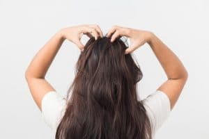 how to apply lotion on scalp