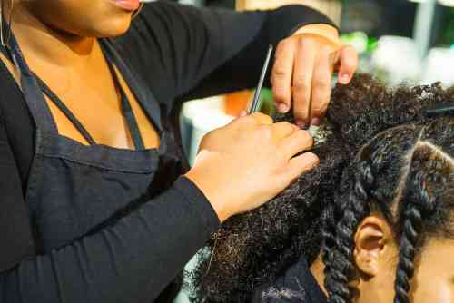 how to wash natural hair after braids