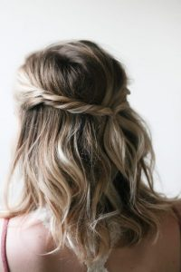 easy hairstyles for short hair to do at home step by step