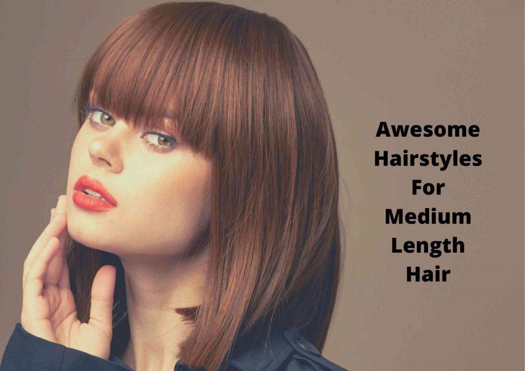 easy everyday hairstyles for medium hair