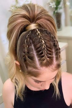 ponytail hairstyles for teens