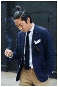 Korean bun hairstyles for men