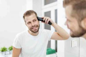 how to cut your own hair men clippers